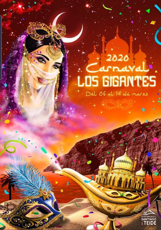 Programa Carnaval de Los Gigantes 2020