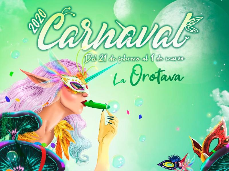 Programa Carnaval de La Orotava 2020