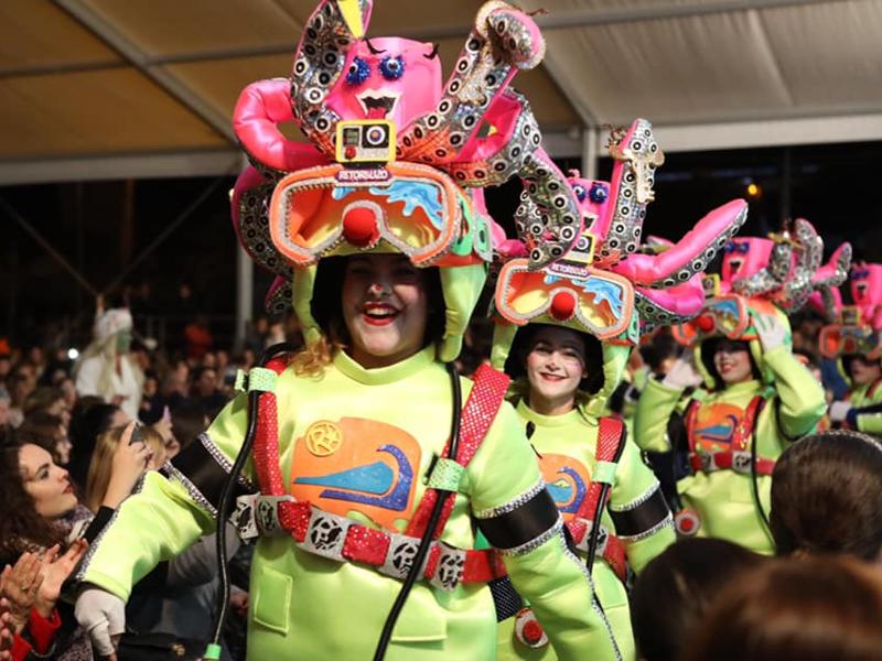 Carnavales en Tenerife Sur