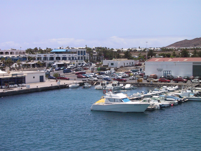 Puertos canarios con visita virtual