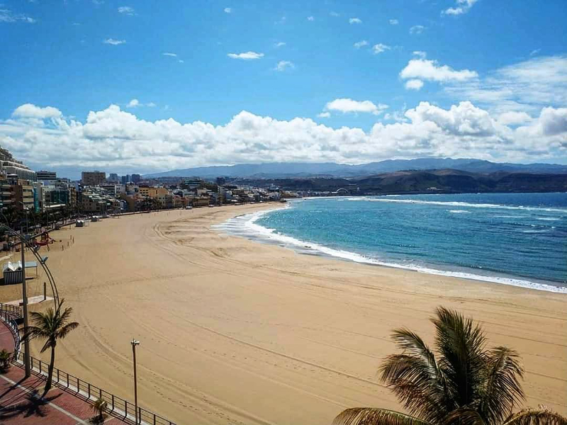Playas canarias con webcam