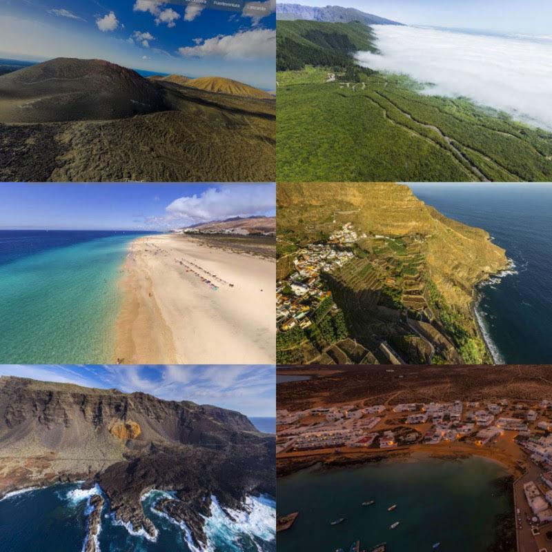 Islas Canarias en imágenes 360