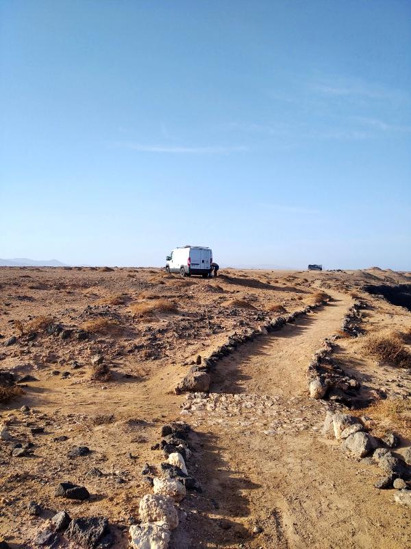 Fuerteventura en furgoneta