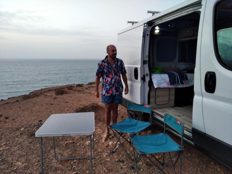 Viajar a Fuerteventura en furgoneta