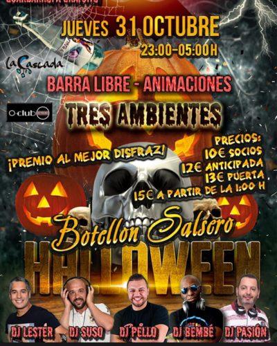 Noche de Halloween 2019 en Tenerife